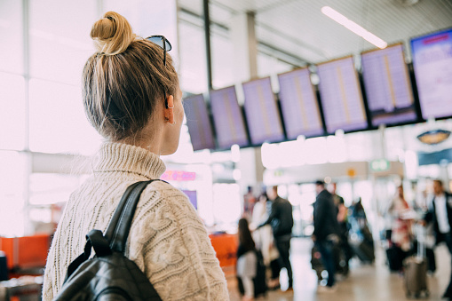 istock Waiting At The Airport In Amsterdam 823459624