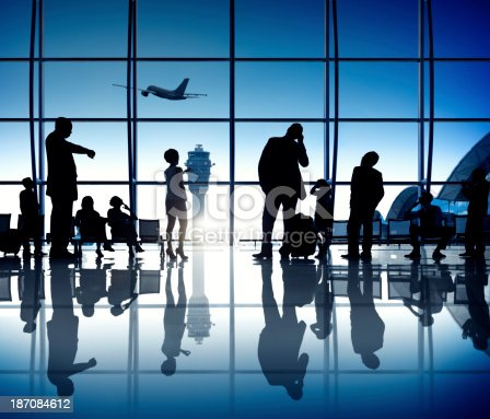 istock Waiting at the Airport 187084612