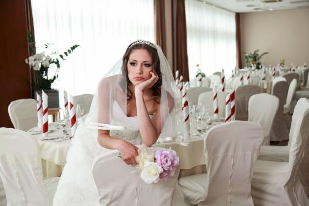 Wartende Braut – Foto