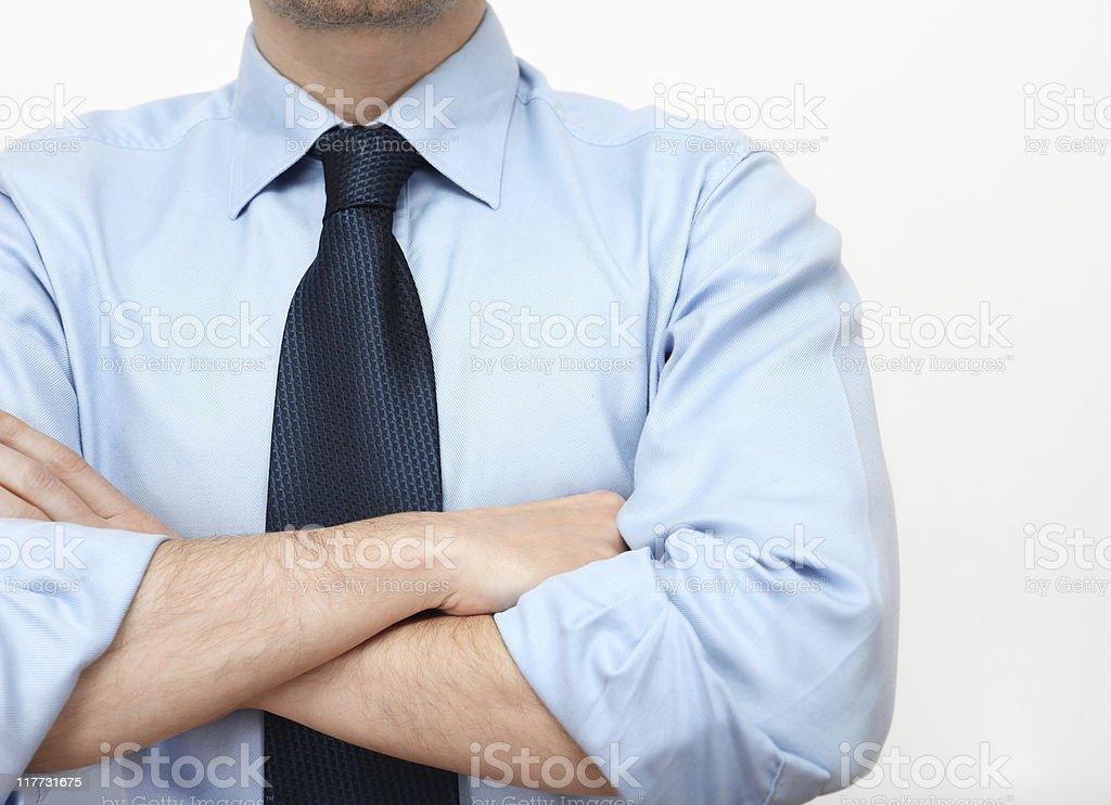 waiting businessman royalty-free stock photo