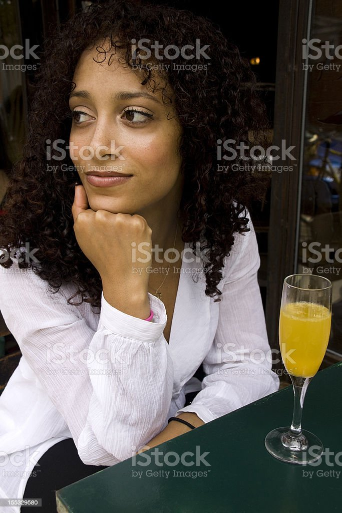 Waiting for a Date royalty-free stock photo
