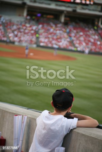 istock Waiting for a flyball 91327588
