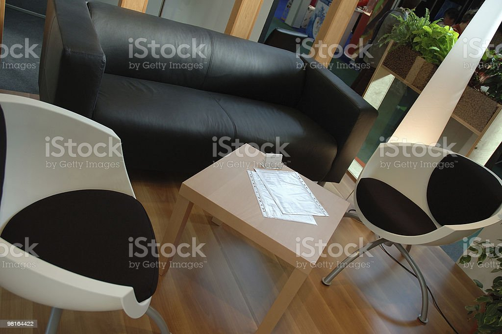Waiting for clients royalty-free stock photo