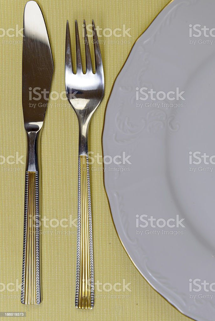 Waiting for food royalty-free stock photo