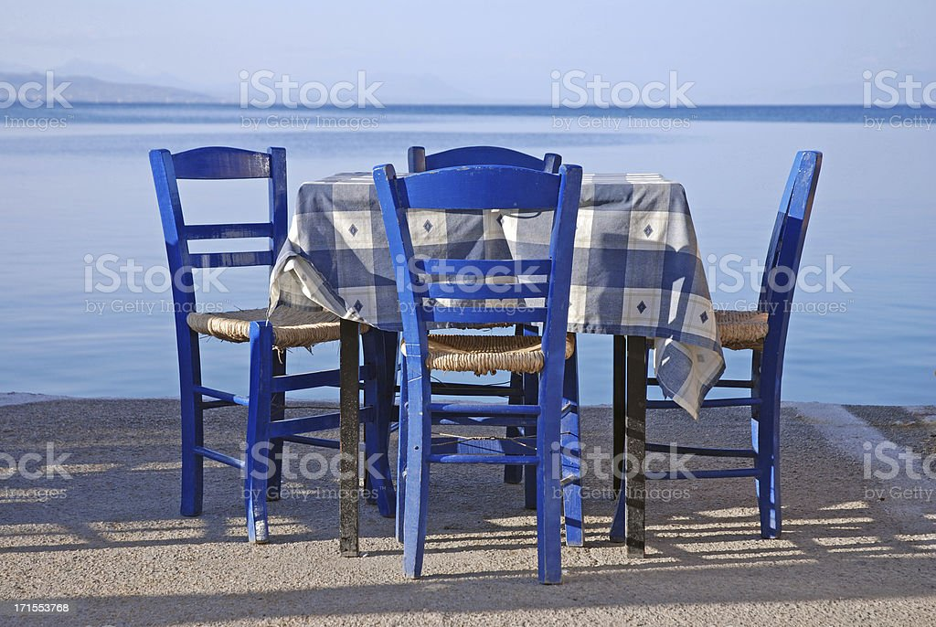 Waiting for Guests royalty-free stock photo
