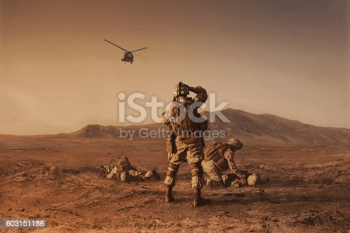 istock waiting for medevac bird 603151186