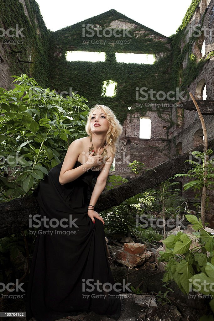 Waiting for my Prince Charming royalty-free stock photo