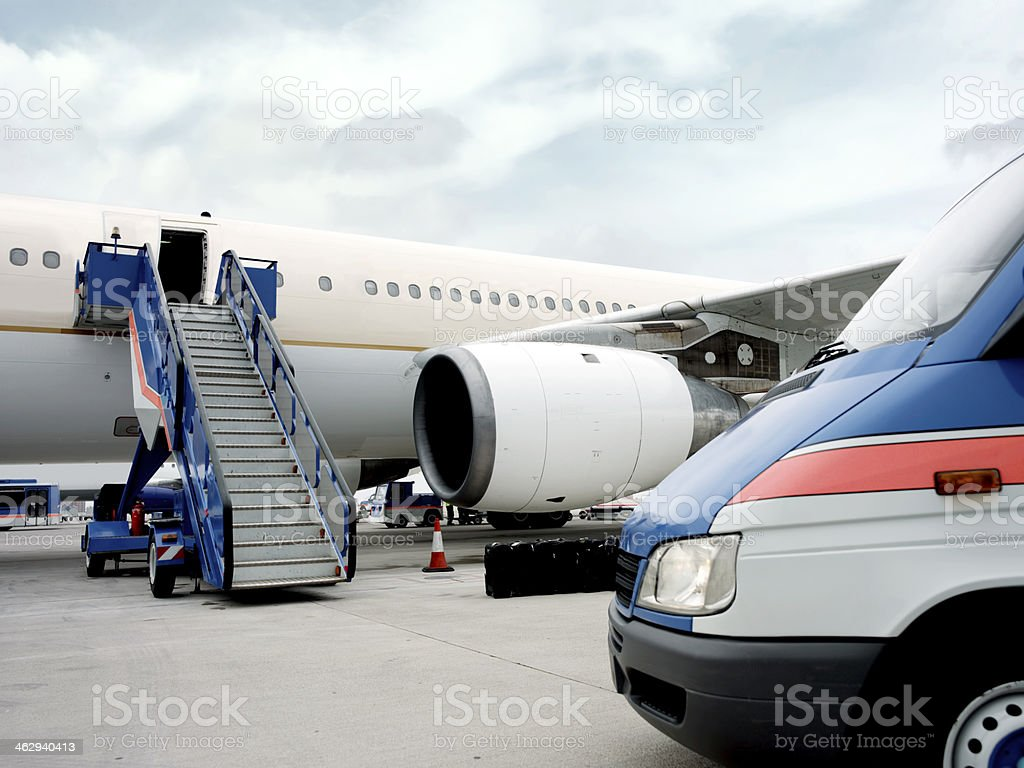 waiting for passengers royalty-free stock photo