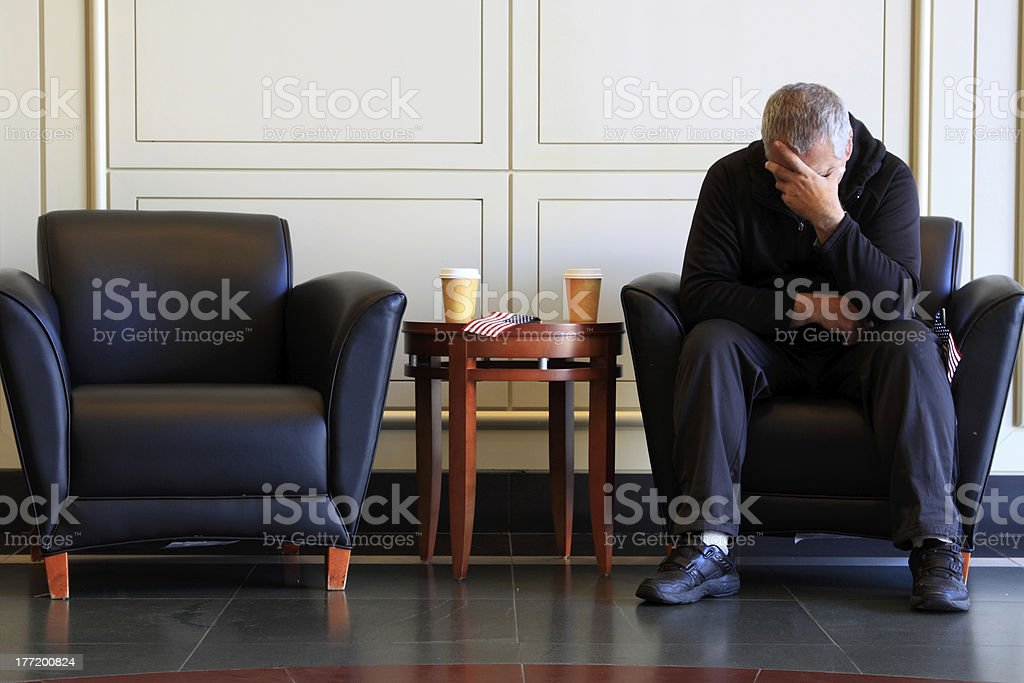 waiting for royalty-free stock photo