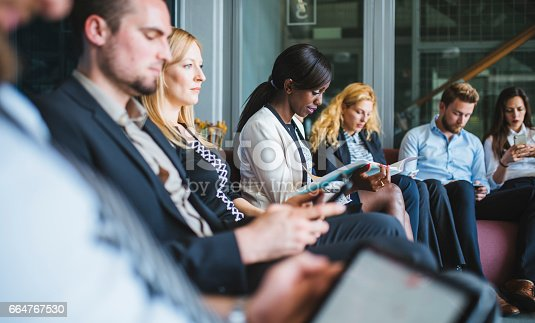 istock Waiting for results of job interview 664767530