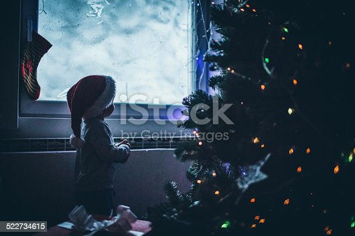 istock Waiting for Santa Clause 522734615