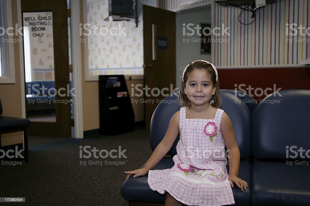 Waiting for the Doctor stock photo