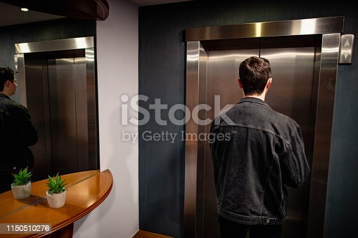 638591126istockphoto Waiting for the Elevator 1150510276