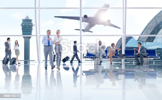 istock Waiting for the Flight 186615073