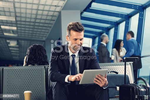 istock Waiting for the flight 490994271