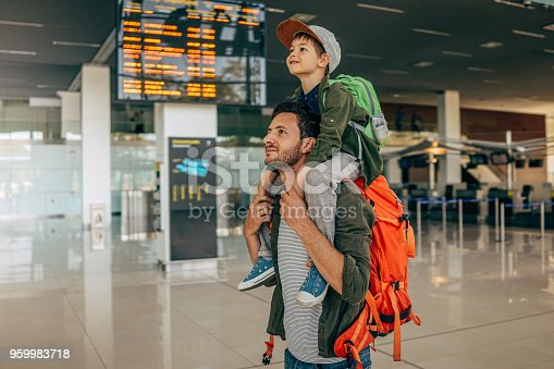 istock Waiting for the flight 959983718