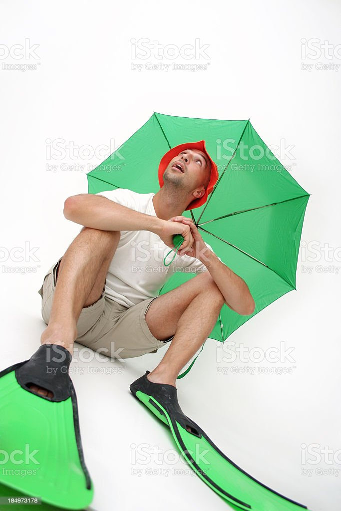 Waiting for the storm royalty-free stock photo