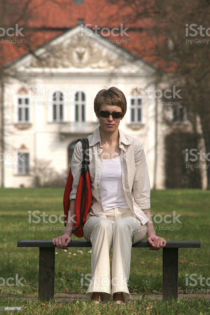 waiting for the sun - Royalty-free Adult Stock Photo