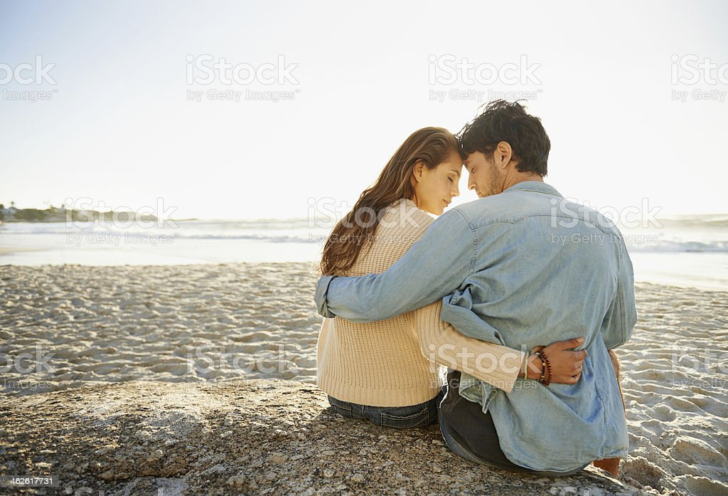 Waiting for the sunset... royalty-free stock photo