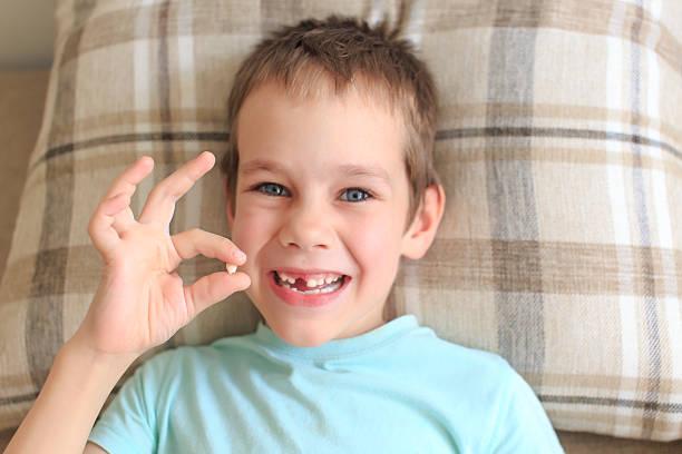Warten auf die tooth fairy – Foto