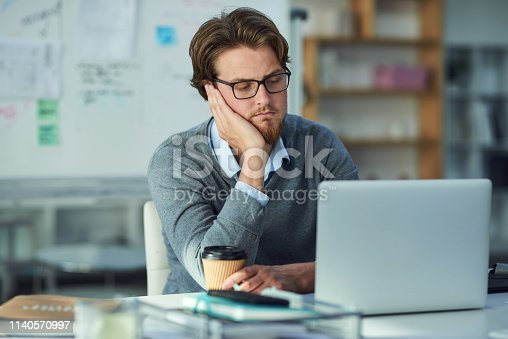 istock Waiting for the wifi to come back on 1140570997