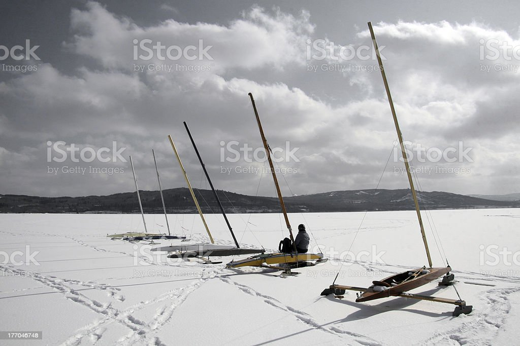 Waiting for Your Ship To Come In royalty-free stock photo