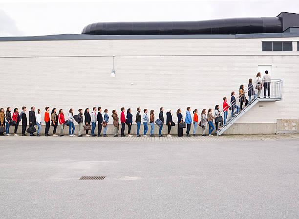 Waiting in line picture id163261837?b=1&k=6&m=163261837&s=612x612&w=0&h=clpgnymoghlbmk2edyjamy3ybdvzh0  bkw2cvvskm4=