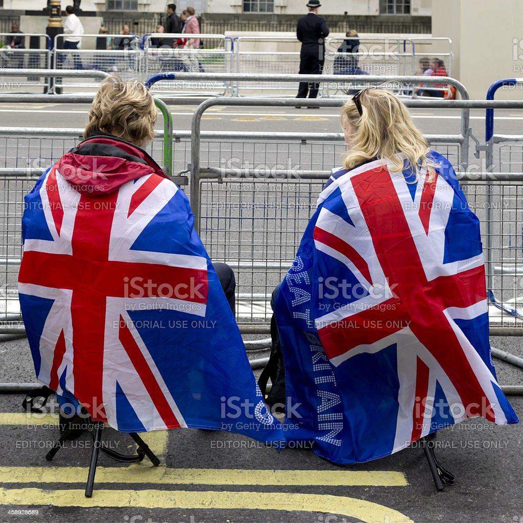 Espera em Whitehall - foto de acervo