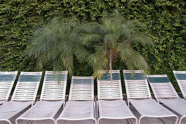 Waiting Lounge Chairs stock photo
