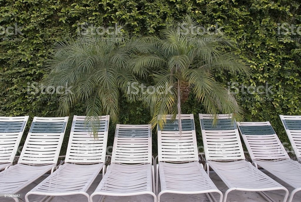 Waiting Lounge Chairs stock photo
