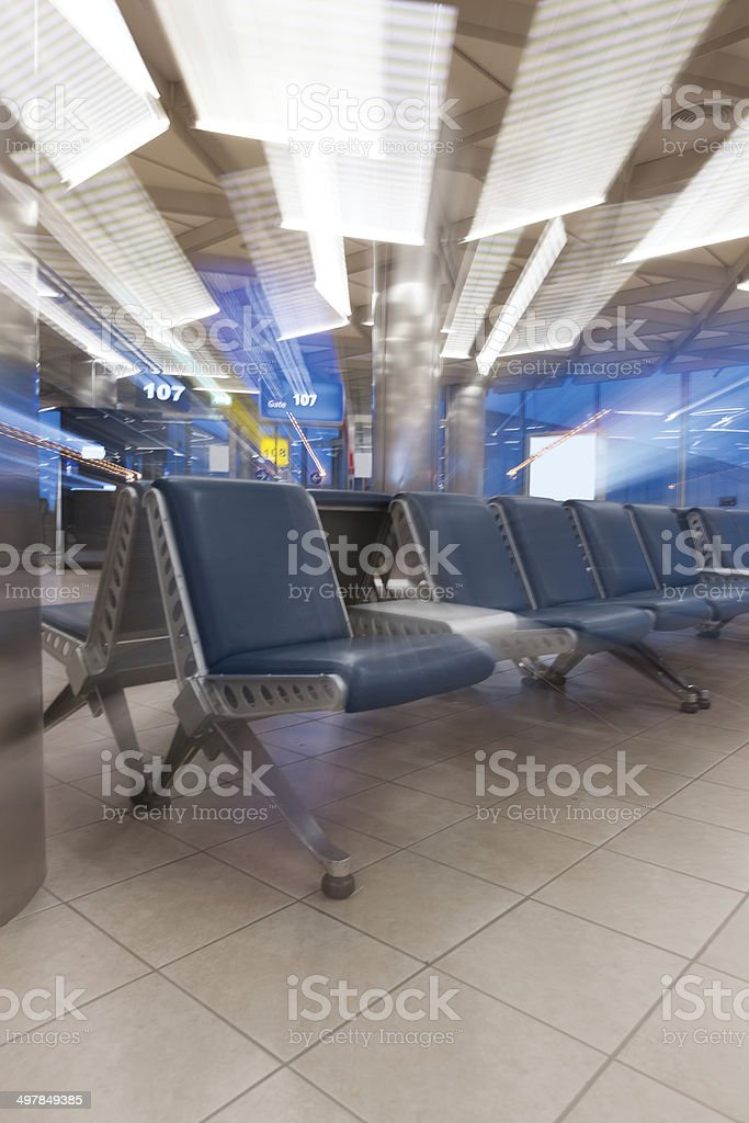 Waiting Lounge for Departure royalty-free stock photo