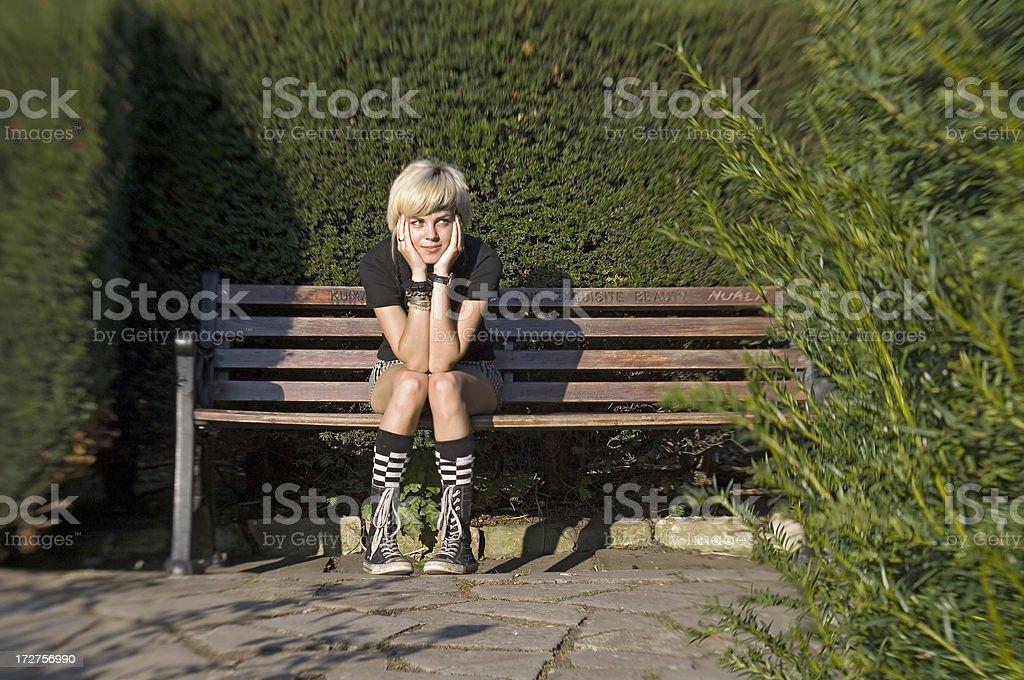 Waiting stock photo
