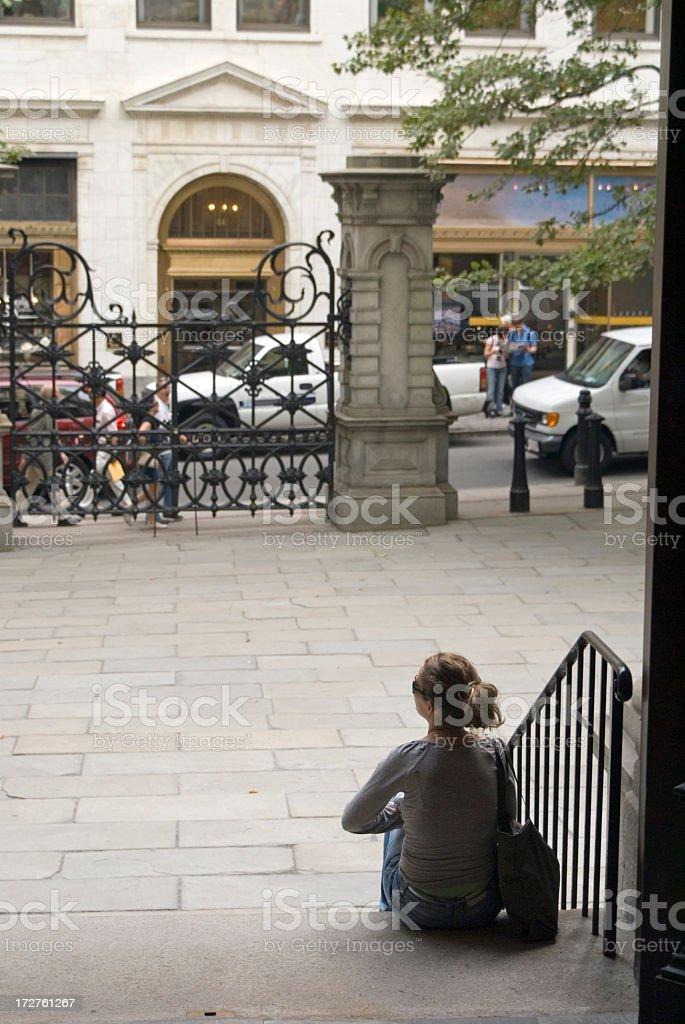 Waiting royalty-free stock photo