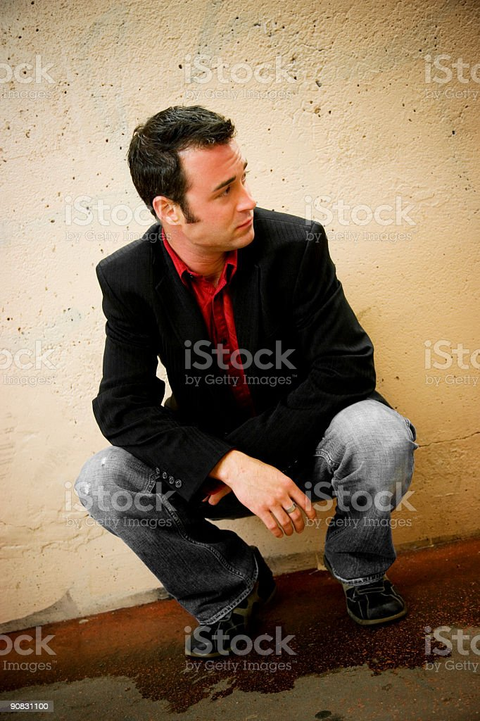 Waiting royalty-free stock photo