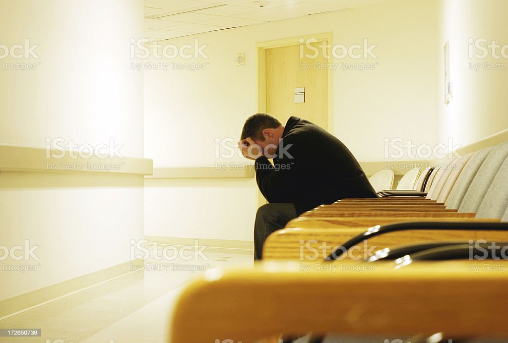 Waiting Room - Royalty-free Accidents and Disasters Stock Photo
