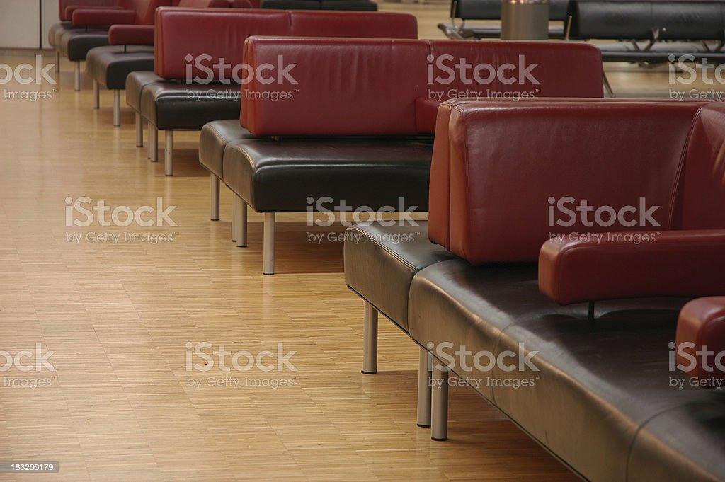 Waiting room royalty-free stock photo