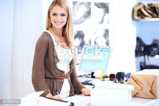 istock Waiting to make a big sale 471820151