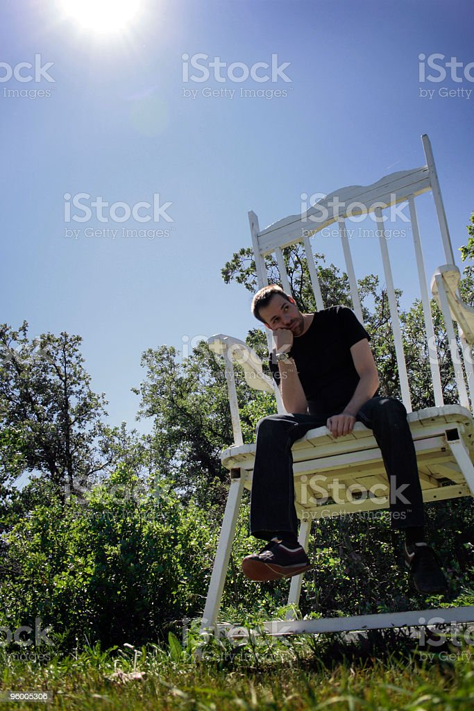 Waiting to Play stock photo