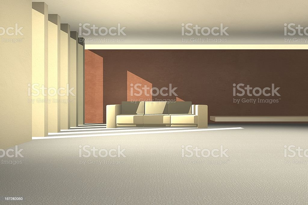 waitingroom1 - render royalty-free stock photo