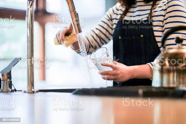 Waitress washing glass in the kitchen of restaurant picture id991459556?b=1&k=6&m=991459556&s=612x612&h=gorbildsuykvbobrm5q2mpbscmdxhj9xdrvi c8ryqq=