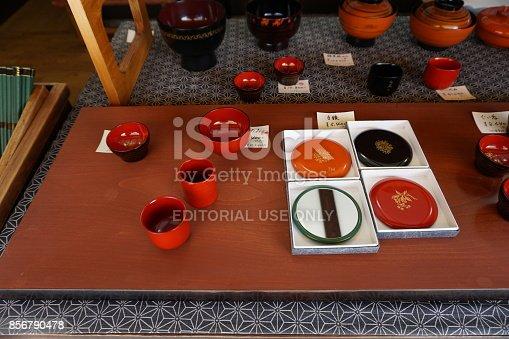 istock Wajima-nuri(lacquer ware) 856790478