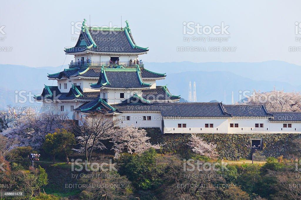 Wakayama Castle stock photo