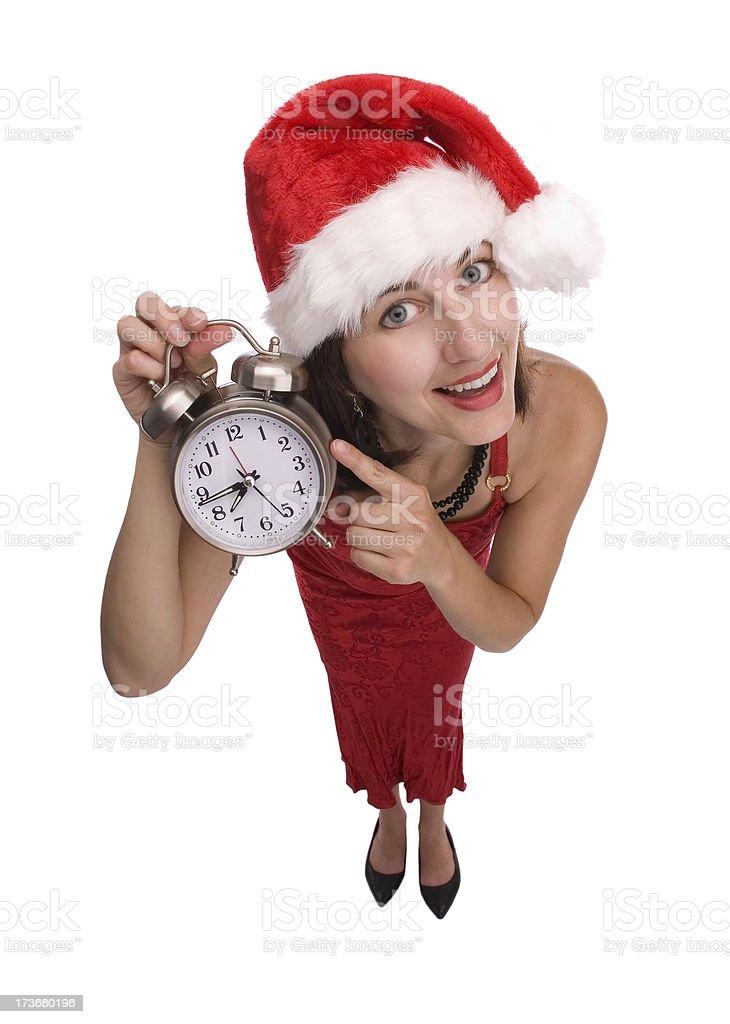 Wake Up, It's Christmas! royalty-free stock photo