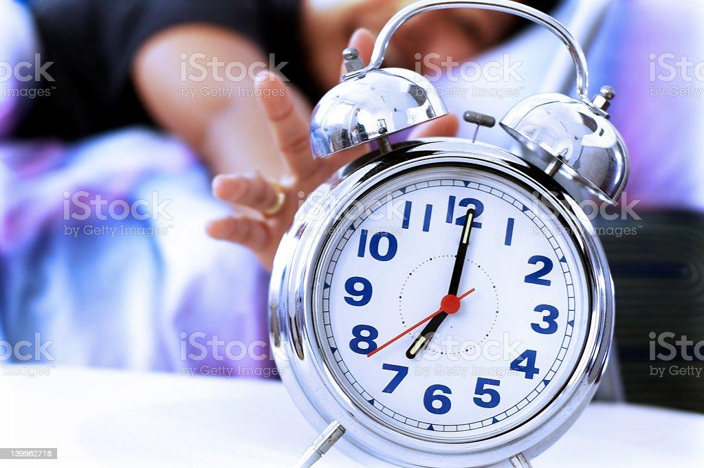 Wake up time royalty-free stock photo