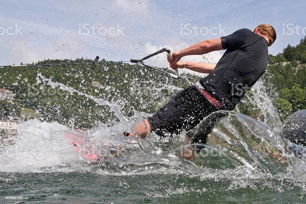 Wakeboard 1 royalty-free stock photo