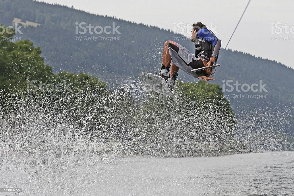 Wakeboard 3 royalty-free stock photo