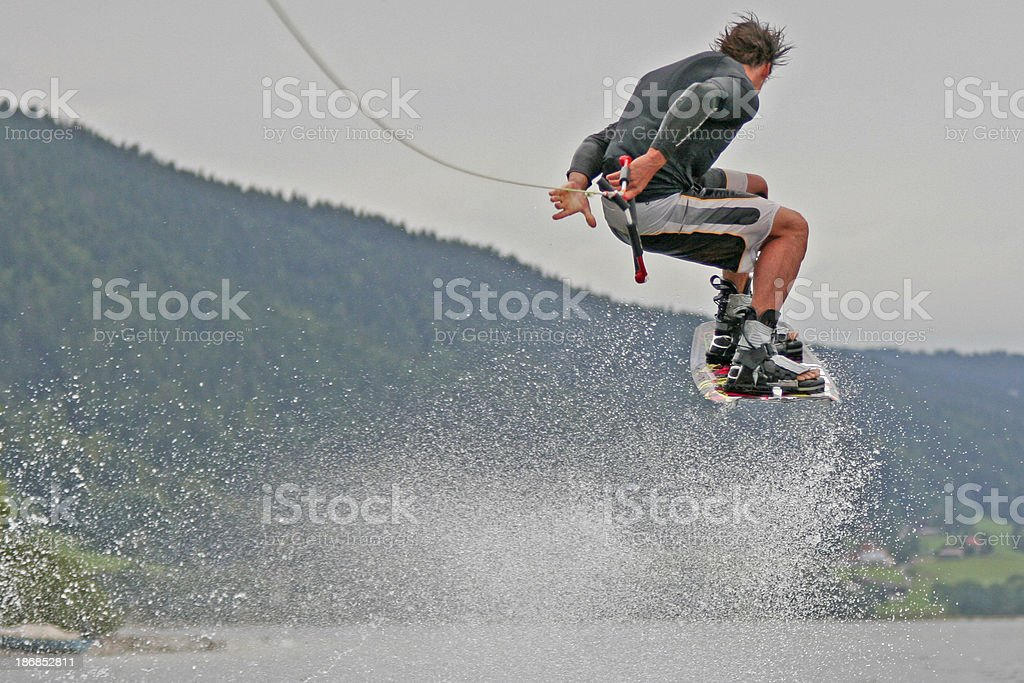 Wakeboard 7 royalty-free stock photo