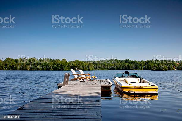 Photo of Wakeboard boat and Dock