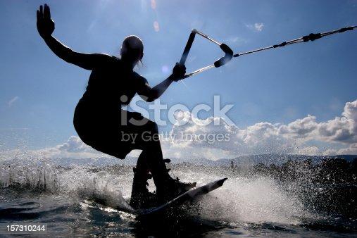 istock Wakeboarding 157310244