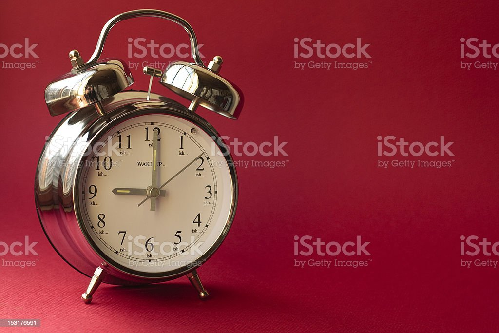 Wakey wakey stock photo